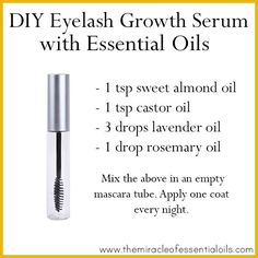 Want to get thick long lashes? Try this essential oil eyelash growth serum! It contains 2 powerful essential oils that are known to promote hair growth and are safe to use as an eyelash serum There's no denying that long and thick eyelashes are a beauty trait that many women would love to have naturally. …
