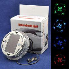 Auto 12 LED Solar-Flash Rad mit 4 Modus-Auswahl, Reifen Licht Lampen Dekoration. 2013 Neu
