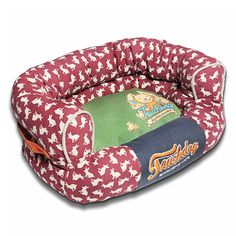 Touchdog Touchdog Lazy-Bones Rabbit-Spotted Premium Easy Wash Couch Dog Bed at Lowe's. The Touchdog Lazy-Bones Rabbit-Spotted Premium Easy Wash Couch Dog Bed is composed of a Cotton-Polyester Outer shell and Inner-Lined with Plush Polyester. Dog Sofa Bed, Dog Pillow Bed, Red Olive, Orthopedic Dog Bed, Dog Cushions, Green Bedding, Cool Dog Beds, Pet Life, Large Animals