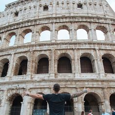 When in Rome...We go BIG @contiki #contiki #NoRegrets #F45Romansanyone?