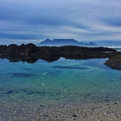Its pretty and blue. I was just playing around with different editing apps on my phone to see what was possible.  One thing I will say is that I love the the different blues but the view from the rock pools are just sensational. I love it.  What do you guys think?  #blue #moodygram #tablemountain #capetown #capetownpictures #lovecapetown #landscape #landscapephotography #mobilephotography #mobileedits #vsco #instaphoto #water #views #photography #bluewater #clouds