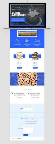 Firewood supplier on Behance
