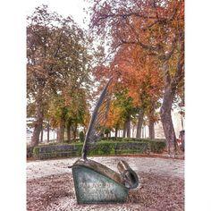 Hoy es un buen día -el mejor- para comenzar a reescribir mi propia historia.  Jardines de El Rastro, #Ávila #CastillayLeón #España #Spain