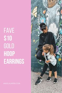 My favorite way to dress up a baseball hat, or any casual look really, is a great pair of big gold hoop earrings. This look is oh so Hailey Beiber or JLo and I'm here for it! | Hello Gorgeous, by Angela Lanter Latest Fashion Trends LATEST FASHION TRENDS | IN.PINTEREST.COM ENTERTAINMENT #EDUCRATSWEB