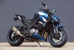 This Kawasaki Z1000 Puma Edition is a classic bike to ride.
