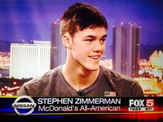 Me without a basketball. High School Basketball, Zimmerman, Mcdonalds, American