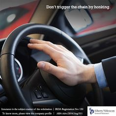 Honking causes frustration and frustration leads to low productivity at work which leads to stress and that translates back to honking. Break the chain. #HornNotOKPlease
