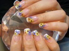 Flower Nail Art   MiCHi MALL