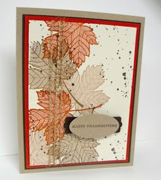 'Magnificent Maple'- Stampin' Up!