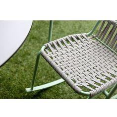 Ataman Rockin' Chair by on a outdoor flooring . Outdoor Flooring, Outdoor Chairs, Outdoor Furniture, Outdoor Decor, People Sitting, Beach Mat, Outdoor Blanket, Woodworking, Design