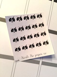 20 Dog Planner Stickers, Erin Condren Happy Planner, Recollections Planner by HeidiHoPaperCo