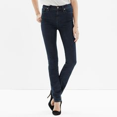 High Riser Alley Straight Jeans in Madewell Rinse - DENIM - Women's Madewell_Shop_By_Category - Madewell