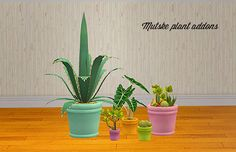 Mutske plant addons pot recolors Credit: Mutske, Eversims, Anna Download >> mesh required