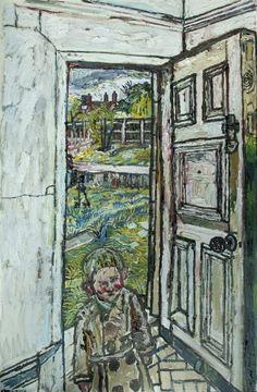 David in the Doorway - John Bratby, 1959-60