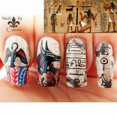 Nails by Cassis (@Cassi Shindelbower P ) done with the Artist 07 & Greek Mythology 02 plates