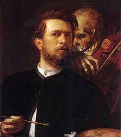 Arnold Böcklin, 1872    (Swiss, 1827-1901)