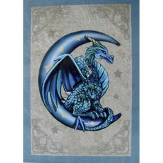 Blue Moon Dragon by Lisa Parker