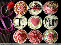 Mom's Day Cupcakes