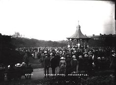 027264: Leazes Park Newcastle upon Tyne C.1910 | Flickr - Photo Sharing!