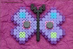 Perler Bead Fridge Magnets