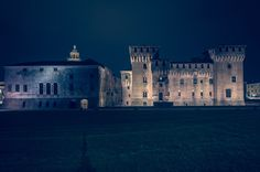 Mantua by night - Mantova - Castel San Giorgio