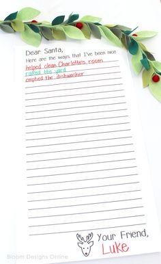 Santa's Nice List- A
