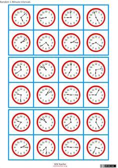 zegar bingo