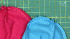 Fleece Hat with Ear Flaps Pattern (free) with tutorial ♥ Fleece Fun Crochet Baby Boy Hat, Baby Boy Hats, Fleece Hat Pattern, Fleece Hats, Ear Hats, Sewing Rooms, Free Pattern, Sunflowers, Sewing Ideas