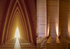 Church Interior-thecoolhunter.com-Long article, but the site doesn't state where this gorgeous interior is....