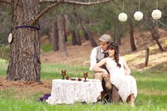 Rustic wedding Katniss would approve of...#HungerGames