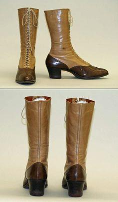 Circa 1910 American boots.