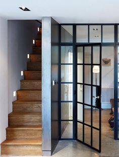 Image result for internal steel and glass doors
