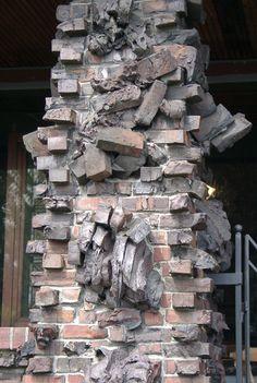 Clinker Brick Facade oh Pinterest Brick facade