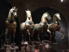 Horses of Saint Mark. Doge's Palace - Palazzo Ducale