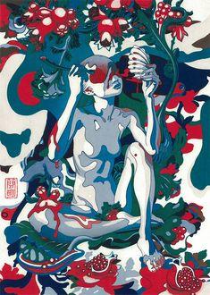 Homage to UKIYOE   TOKYO DESIGN WEEK in Milano Salone 2015   of Adachi prints Modern Ukiyo-e