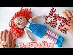 YouTube Amigurumi Doll, Crochet Designs, Crochet Dolls Free Patterns, Crochet Doll Pattern, Weaving Patterns, Doll Patterns, Crochet Toys, Amigurumi Tutorial, Doll Shoes