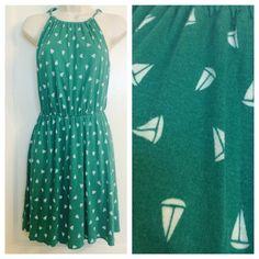 "Spotted while shopping on Poshmark: ""Sailboat Halter Dress""! #poshmark #fashion #shopping #style #Old Navy #Dresses & Skirts"