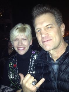 Boulder Theater, Boulder, CO. 12/10/13. I was a goof, but he was handsome, gracious, lovely — and I had the feeling he's probably one of the most non-cynical artists in the business. Chris Isaak, Theater, Handsome, Artists, Feelings, Business, Theatres, Store, Business Illustration