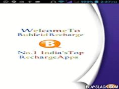 BubleID  Android App - playslack.com ,  This application is used to send recharge request to any recharge gateway through SMS or HTTP API via GPRS.User can also manage different server mobile numbers or long codes. User can send recharge to many SIM providers like Vodafone, Airtel, Aircel and many more. For more detail please visit our websitehttp://bubleid.inThis SMS application is useful and can be customized for various Recharge System where dealer - retailer used to send SMS on…