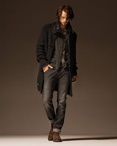 excited for fall. ..i think fashion is at it's best in the fall, for both men and women.