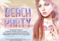 Cosmetic Fair Beach Party | Flickr - Photo Sharing!
