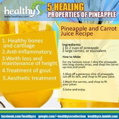 TOP 5 Health Benefits of Pineapple - Healthyss