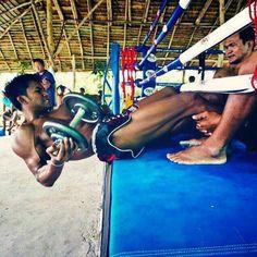 Buakaw training from Muay Thai, facebook
