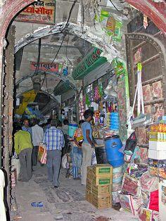 Market in Jaipur, Rajasthan, India