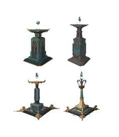 Altar , you jeong Cho on ArtStation at https://www.artstation.com/artwork/alter-of-mother-earth