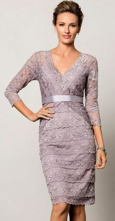 Can I Wear a Metallic Dress to My Son's Wedding? A metallic dress sounds très edgy for your sons wedding. That being said if it works with the bride and the color scheme of the wedding a subtle metallic like pewter, gold or silver dress would be beautiful.