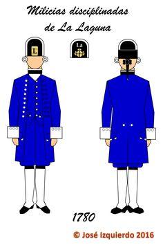 Milicias disciplinadas de La Laguna, 1780