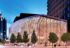 Schuster Performing Arts Centerin Dayton, Ohio | Designed by Pelli Clarke Pelli Architects