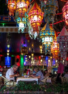 Streets of Kusadasi - Night life in Turkey is AWESOME! These beautiful lanterns were everywhere as we walked through the streets Kusadasi, Oh The Places You'll Go, Great Places, Places To Travel, Places To Visit, Turkey Vacation, Turkey Travel, Beautiful World, Beautiful Places