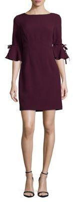 Flutter-Sleeve Shift women's Dress